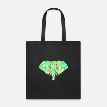 Colorful Elephant - Tote Bag