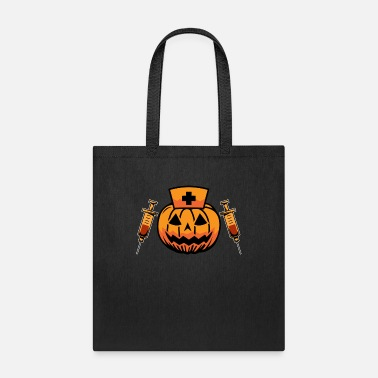 2019 Halloween Pumpkin Scrubs T Shirt For Nurse - Tote Bag
