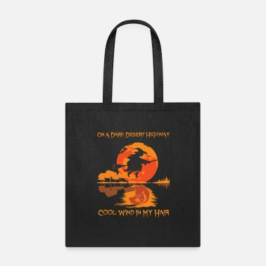 Desert Highway Halloween On A Dark Desert Highway - Tote Bag