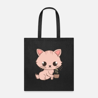 Cat Breed Cute Siam Cat And Coffee Gifts For Cat Lovers - Tote Bag