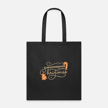 Gingerbread Christmas T-Shirt - Tote Bag