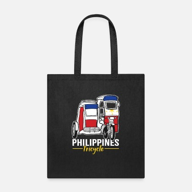 Family Holiday Filipino Transportation Tricycle PInoy Pride - Tote Bag