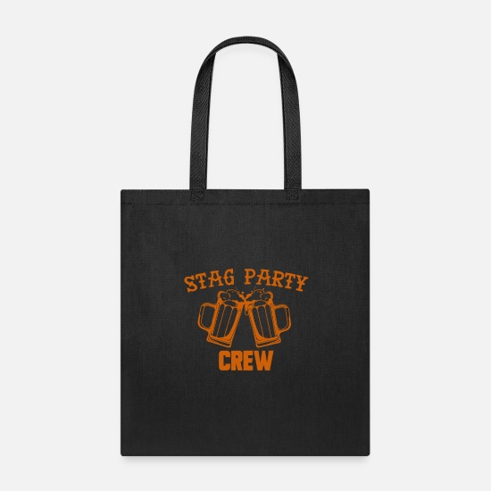 Bachelor Party Bags & Backpacks - Stag Party Crew - Tote Bag black