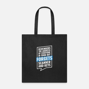 Service Postal Worker Remembers The Address Funny Postman - Tote Bag