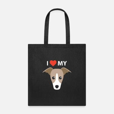 Clothing I Love My Dog Italian Greyhound Gifts Breed Gift - Tote Bag