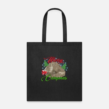 Climber Rock Climbing Bouldering Ugly Christmas Funny Gift - Tote Bag