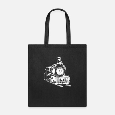 Conductor Train Trains Model Railroad Railway Gift - Tote Bag