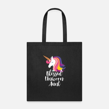 Best Aunt Ever Aunt of the Birthday Gift Aunts Girl Unicorn Aunt - Tote Bag