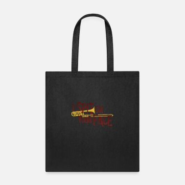 Trombone Trombone Funny Quote Trombonist Gift Marching Band - Tote Bag