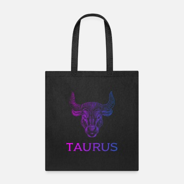 Idea Taurus birthday zodiac sign gift idea funny cool - Tote Bag