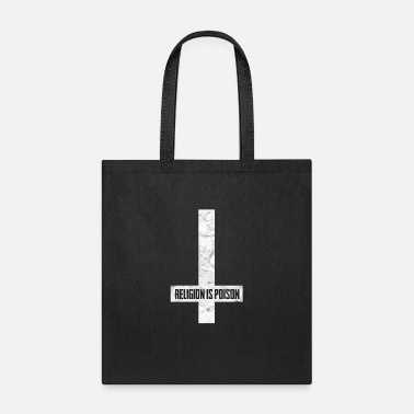 Tarot Antichrist Grunge Religion Is Poison Atheist - Tote Bag