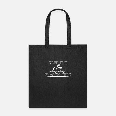 Enviromental Keep the sea plastic free - Tote Bag