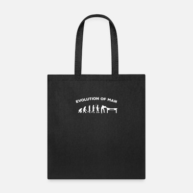 Snook Billiard Player Gift Evolution Billiard Pool Snook - Tote Bag