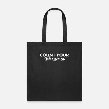 Count Royal COUNT YOUR BLESSINGS - Tote Bag
