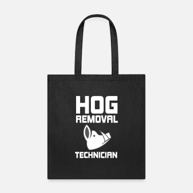 Hutning Hog Removal Technician Hunting Boar Pig - Tote Bag