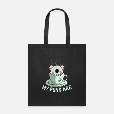 Commonwealth My Puns are | vintage wilderness animal gift - Tote Bag