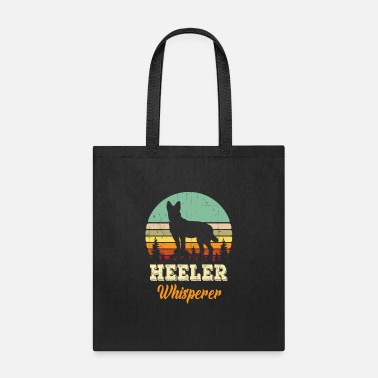 Heeler Cute Australian Cattle Dog Lover Pet Heeler Dad Mo - Tote Bag