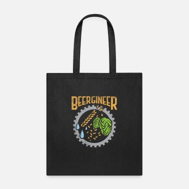 Malt Beergineer Craft Beer Hops Homebrew Beer Brewing - Tote Bag