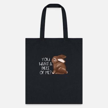 Rabbit Tote Bag Rabbit Bag Bunny Tote in Chocolate Brown