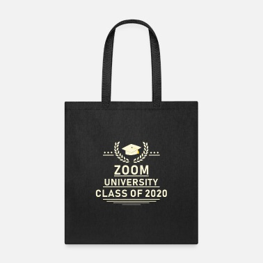College Zoom University Class of 2020 - Tote Bag