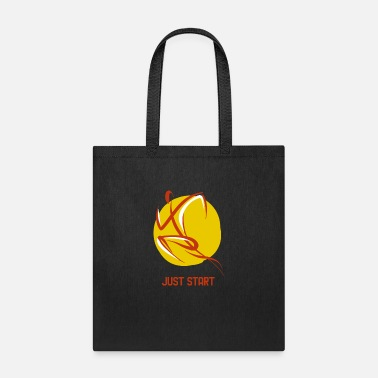 Start Just START! - Tote Bag