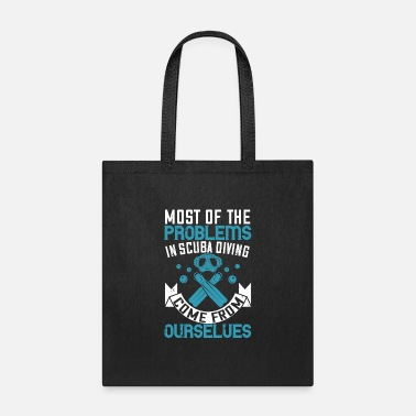 Scuba Diving Tshirt - Tote Bag