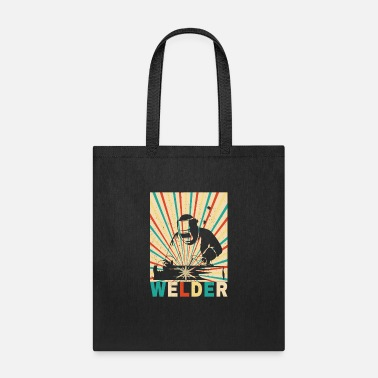 Funny Welder Shirt - Tote Bag