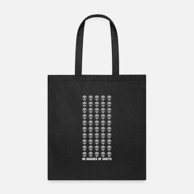 Astrology 50 SHADES OF GREYS Funny Alien Gift Space Lover - Tote Bag