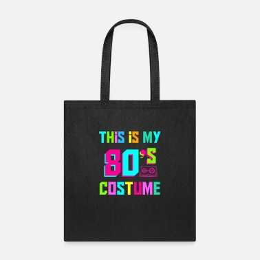 Cassette This is My 80s Costume Fancy eighties dress Party - Tote Bag