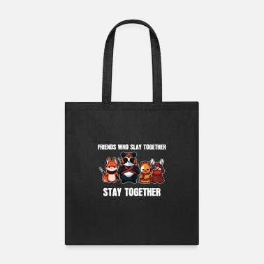 Pc Friends Slay Together - For Gamers - Tote Bag