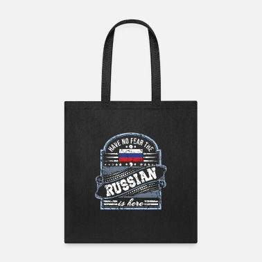 Fps Russia Russia T Shirt - Have No Fear The Russian Is Here - Tote Bag