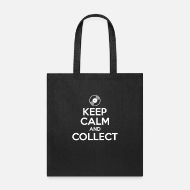 Deejay Keep calm and collect - lp vinyl collector gift - Tote Bag