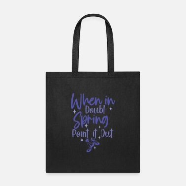 Scottish Scottish Dance When in Doubt - Tote Bag