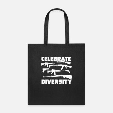 Armed Celebrate Diversity Second Amendment Pro Gun Enthu - Tote Bag