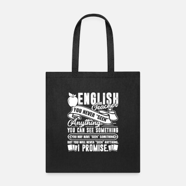 English Teacher English Teacher English Teacher Promise - Tote Bag