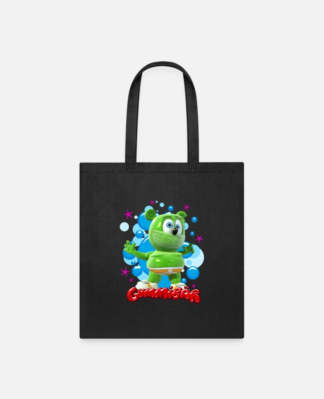 Gummy Bear Bags & Backpacks - Gummibär Bubbles - Tote Bag black