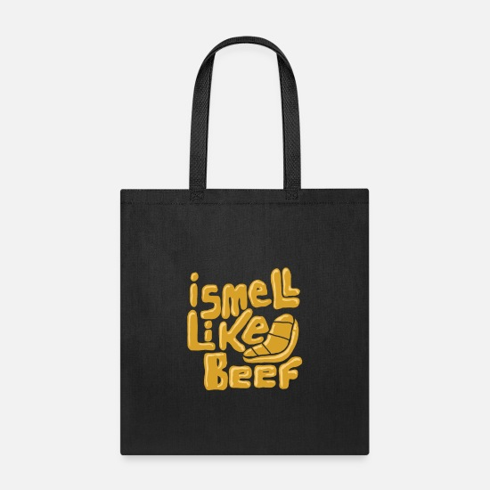 Love Bags & Backpacks - Smell Like Beef - Tote Bag black