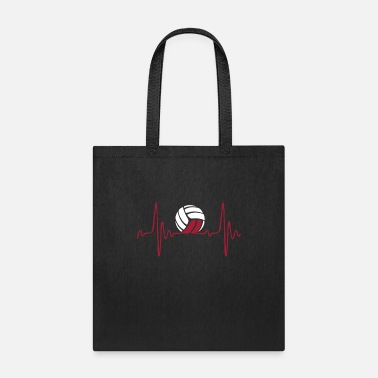 VolleyBall Heartbeat - Tote Bag