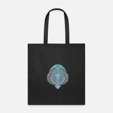 Groovy Christian Cross Design - Tote Bag