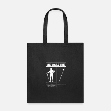 Bohurt - Who would win? - Mediveal Fighter Fun - Tote Bag