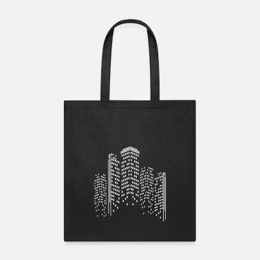 World Trade Centre City Skyline by Night - Tote Bag