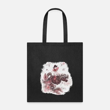 Norman Thelwell Thelwell Reading Outside Flowers - Tote Bag