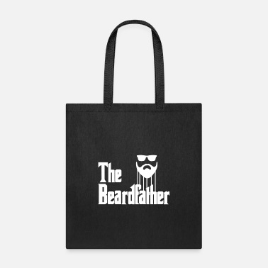 Pommesgabel The Beardfather Beard Style Beards Man Santa - Tote Bag