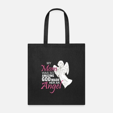 Mom Mom Shirts / Mom in Heaven / Mom died / Mom Angel - Tote Bag