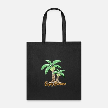 Sunlight Palm trees - Tote Bag