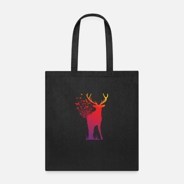 Ambient Ambient Butterfly Dispersion Elk - Tote Bag