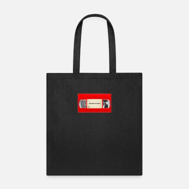 Vhs Tapes Red VHS Tape Logo - Tote Bag
