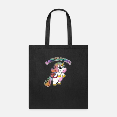 Kids Back To School Cute Back To School Unicorn Rainbow - Tote Bag