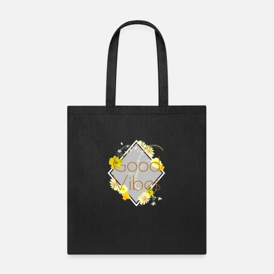 Good Bags & Backpacks - Good Vibes - Tote Bag black