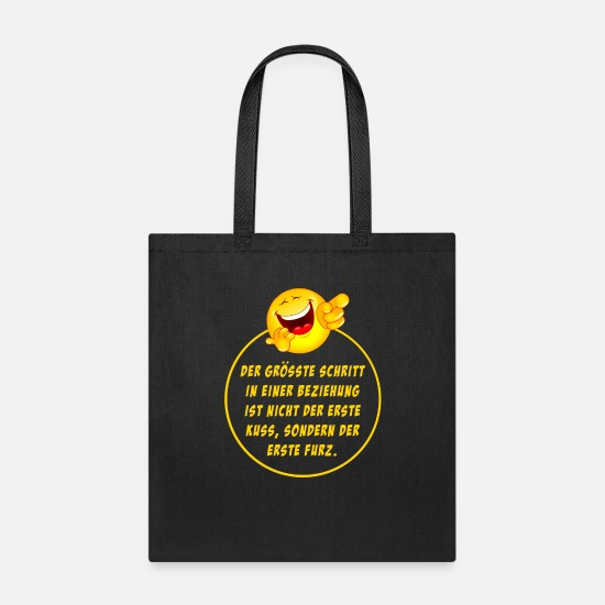 Happy Face Bags & Backpacks - Happy face - Tote Bag black